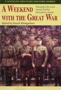 """A Weekend with the Great War"" book cover"